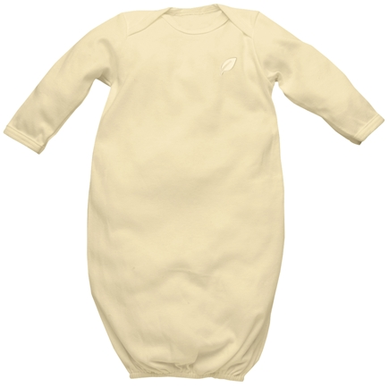 DROPPED: Green Sprouts - Origins Organic Baby Gown Medium 6-12 Months Bamboo