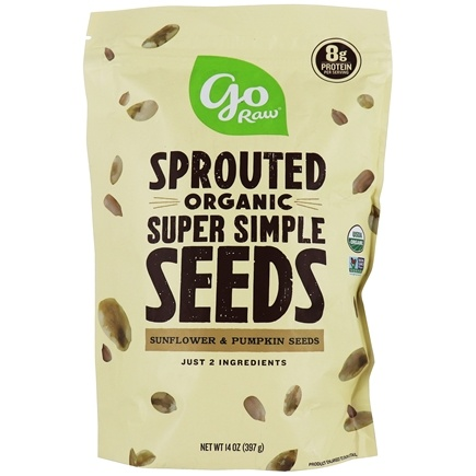 Go Raw - Sprouted Seeds Super Simple - 1 lb.