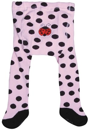 DROPPED: Green Sprouts - Organic Cotton Crawlers Lady Bug Medium 12 Months Pink & Black