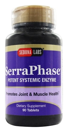 DROPPED: Sedona Labs - SerraPhase Inflammation Response Formula 10 mg. - 90 Tablets