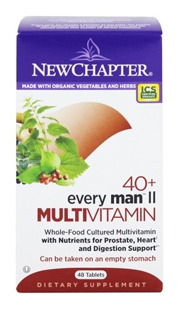 New Chapter - Every Man II Multivitamin 40 Plus - 48 Tablets