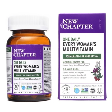 New Chapter - Every Woman's One Daily - 48 Tablets