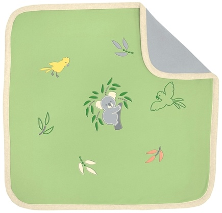 "DROPPED: Green Sprouts - Origins EcoFleece Blanket 36"" x 36"" Koala Sage Green"