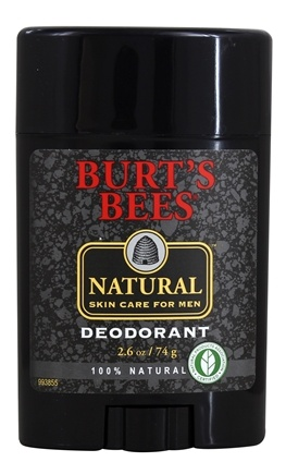 DROPPED: Burt's Bees - Natural Skin Care for Men Deodorant - 2.6 oz.