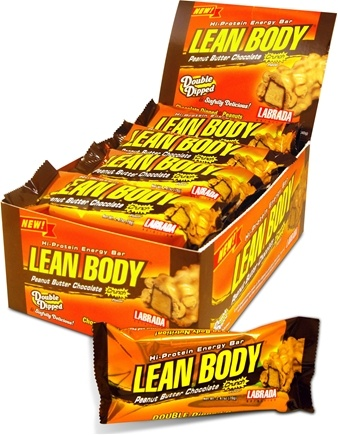 Zoom View - Lean Body Hi-Protein Energy Bar Double Dipped