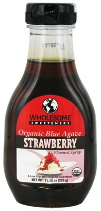 Zoom View - Organic Blue Agave Flavored Syrup