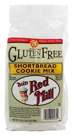 Bob's Red Mill - Gluten-Free Shortbread Cookie Mix - 21 oz.