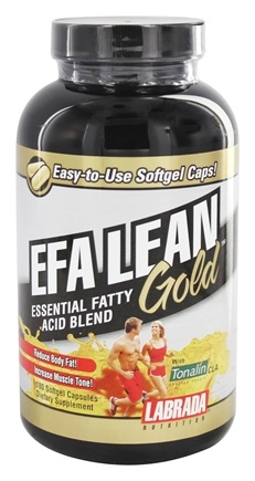 Labrada - EFA Lean Gold Essential Fatty Acid Blend with Tonalin CLA - 180 Softgels