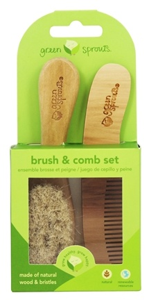 Zoom View - Green Sprouts Brush And Comb Set 0-6 Months