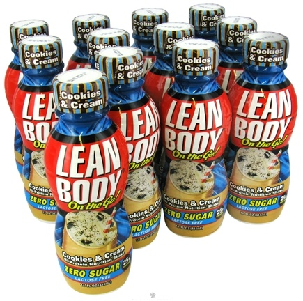 Zoom View - Lean Body On the Go Hi-Protein Nutrition Shake RTD