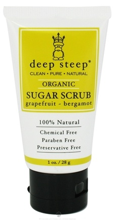 DROPPED: Deep Steep - Sugar Scrub Travel Size Grapefruit Bergamot - 1 oz.