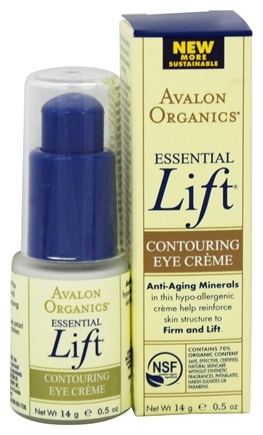 DROPPED: Avalon Organics - Essential Lift Contouring Eye Cream - 0.5 oz.