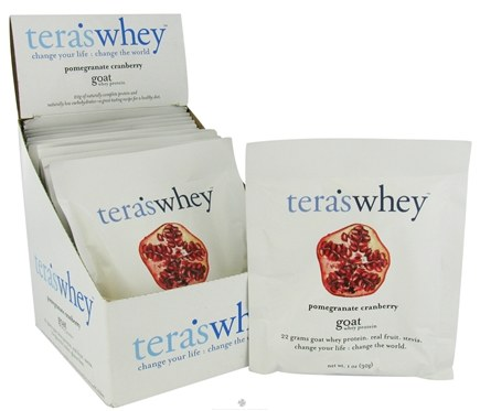 DROPPED: Tera's Whey - Goat Whey Protein Pomegranate Cranberry - 1 oz.