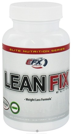 DROPPED: All American EFX - Lean Fix Elite - 120 Capsules CLEARANCE PRICED