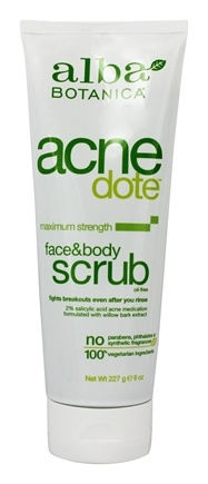 Zoom View - Natural Acnedote Face & Body Scrub