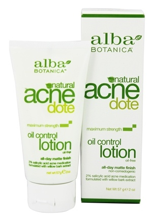 Alba Botanica - Natural ACNEdote Oil Control Lotion - 2 oz.
