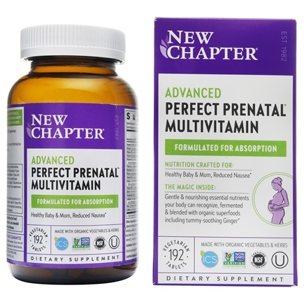 New Chapter - Perfect Prenatal - 192 Tablets