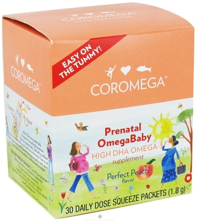 Zoom View - Prenatal OmegaBaby High DHA Omega-3