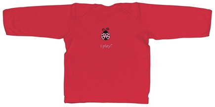Zoom View - Organic Crawler Long Sleeve T-Shirt Ladybug Small 6 Months
