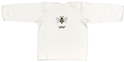 Zoom View - Organic Crawler Long Sleeve T-Shirt BumbleBee Medium 12 Months