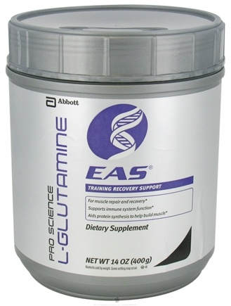 DROPPED: EAS - Pro Science L-Glutamine - 14 oz. CLEARANCE PRICED