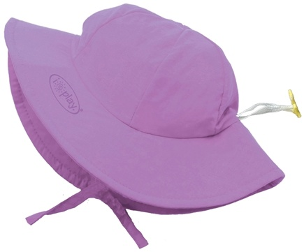 DROPPED: Green Sprouts - Solid Brim Sun Protection Hat Infant 6-18 Months Lavender