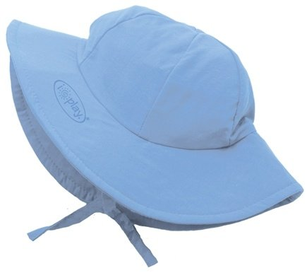Zoom View - Solid Brim Sun Protection Hat Newborn 0-6 Months
