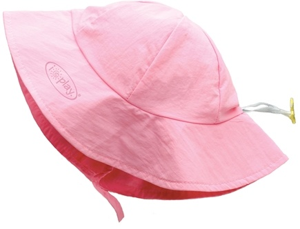 DROPPED: Green Sprouts - Solid Brim Sun Protection Hat Newborn 0-6 Months Light Pink - CLEARANCE PRICED