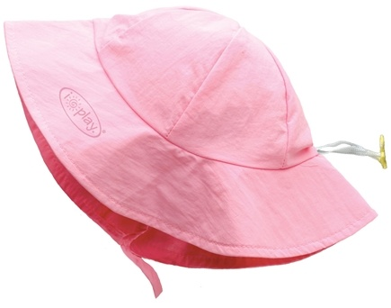 DROPPED: Green Sprouts - Solid Brim Sun Protection Hat Infant 6-18 Months Light Pink