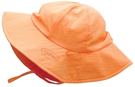 DROPPED: Green Sprouts - Solid Brim Sun Protection Hat Toddler 2-4 Years Orange