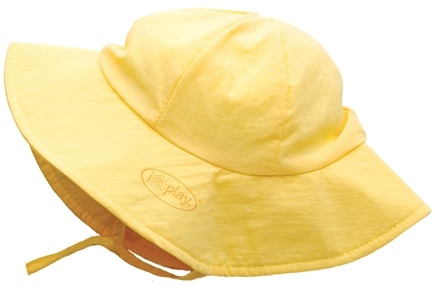 DROPPED: Green Sprouts - Solid Brim Sun Protection Hat Toddler 2-4 Years Yellow