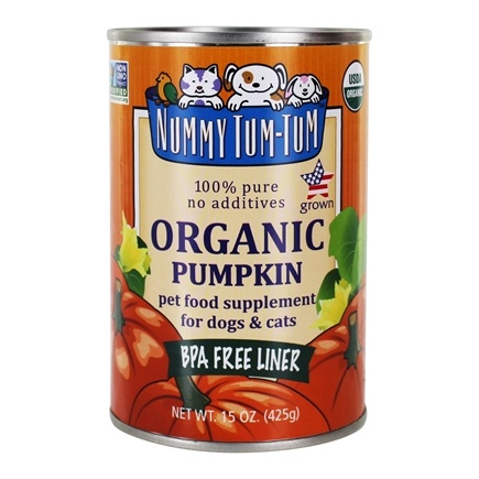 DROPPED: Nummy Tum-Tum - Pure Pumpkin For Dogs 100% Organic - 15 oz.
