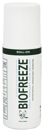 DROPPED: BioFreeze - Pain Relieving Roll-On - 3 oz.