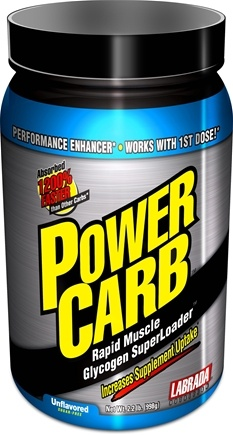 DROPPED: Labrada - Power Carb Unflavored - 2.2 lbs. CLEARANCE PRICED