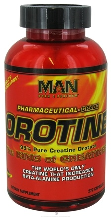 DROPPED: MAN Sports - Orotine Pharmaceutical-Grade - 272 Capsules