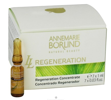 DROPPED: Annemarie Borlind - Natural Beauty LL Regeneration Regeneration Concentrate - 7 Vial(s) CLEARANCE PRICED