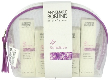 DROPPED: Annemarie Borlind - Natural Beauty ZZ Sensitive Travel Kit - 4 Piece(s) CLEARANCE PRICED