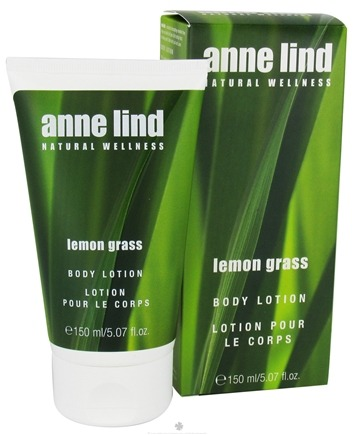 DROPPED: Annemarie Borlind - Anne Lind Natural Wellness Body Lotion Lemon Grass - 5.07 oz. CLEARANCE PRICED