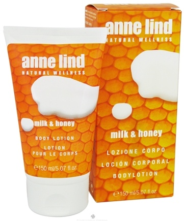 DROPPED: Annemarie Borlind - Anne Lind Natural Wellness Body Lotion Milk & Honey - 5.07 oz. CLEARANCE PRICED