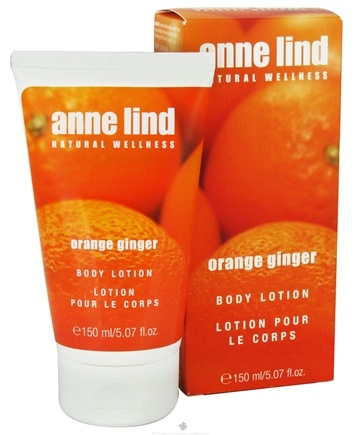 DROPPED: Annemarie Borlind - Anne Lind Natural Wellness Body Lotion Orange Ginger - 5.07 oz. CLEARANCE PRICED