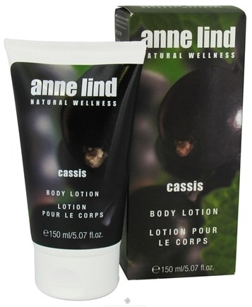 DROPPED: Annemarie Borlind - Anne Lind Natural Wellness Body Lotion Cassis - 5.07 oz. CLEARANCE PRICED