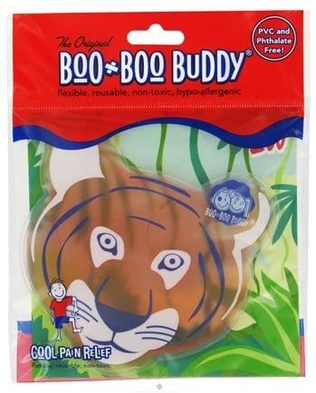DROPPED: Boo Boo Buddy - Reusable Cold  Pack Zoo Designs Tiger - CLEARANCE PRICED