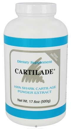 DROPPED: Cartilade - 100% Shark Cartilage Powder Extract - 17.6 oz. CLEARANCE PRICED