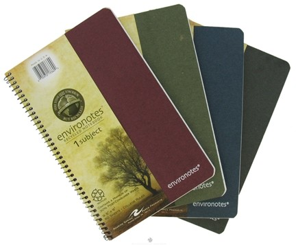 "DROPPED: Roaring Spring - Environotes Notebook 1 Subject College Ruled Recycled 9.5"" x 6"" - 80 Sheet(s)"