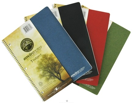 "DROPPED: Roaring Spring - Environotes Notebook 1 Subject College Ruled Recycled 11"" x 8.5"" - 80 Sheet(s) CLEARANCE PRICED"
