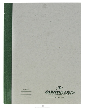 "DROPPED: Roaring Spring - Environotes Composition Notebook College Ruled Recycled 9.75"" x 7.5"" - 80 Sheet(s)"