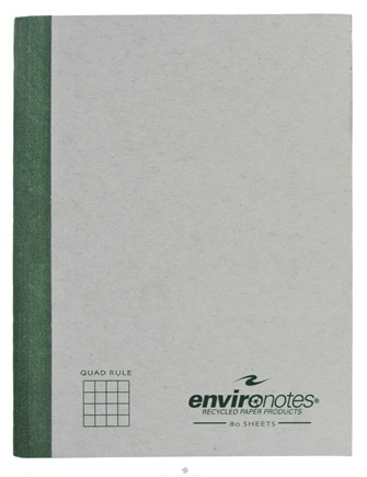 "DROPPED: Roaring Spring - Environotes Composition Notebook Quad Ruled Recycled 9.75"" x 7.5"" - 80 Sheet(s)"