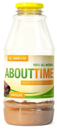 DROPPED: About Time - Whey Protein Isolate RTD Chocolate - 1 oz.