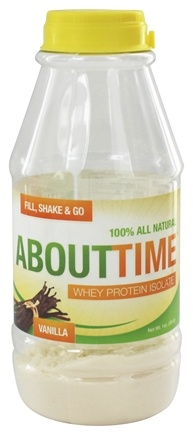 DROPPED: About Time - Whey Protein Isolate RTD Vanilla - 1 oz.