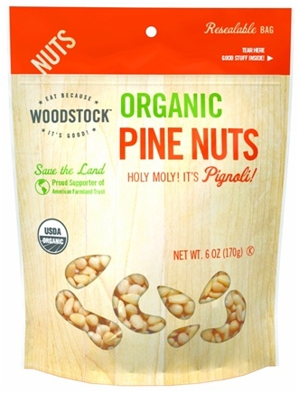 DROPPED: Woodstock Farms - Organic Pine Nuts - 6 oz.
